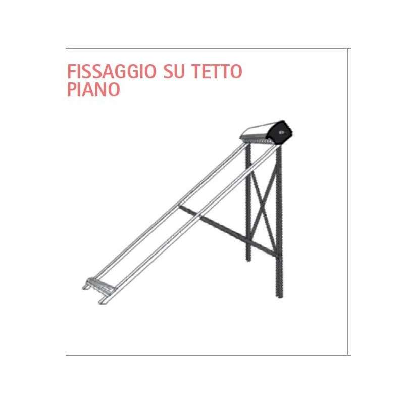 Fissaggio su tetto piano set base per pannello hp cpc 21 for Creatore di piano di base