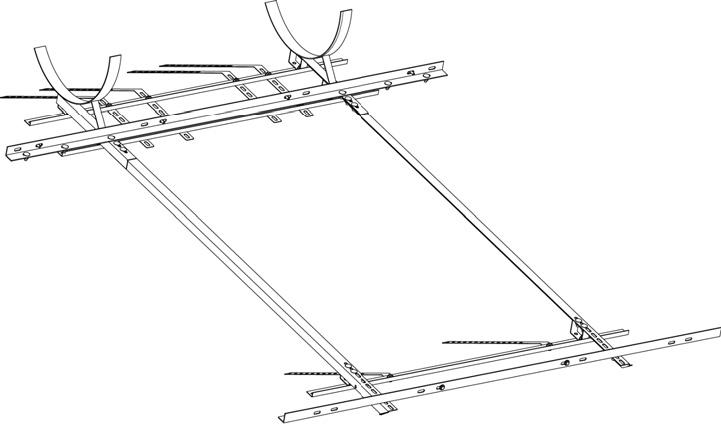 Staffe sostegno modalittetto inclinato Cordivari Panarea