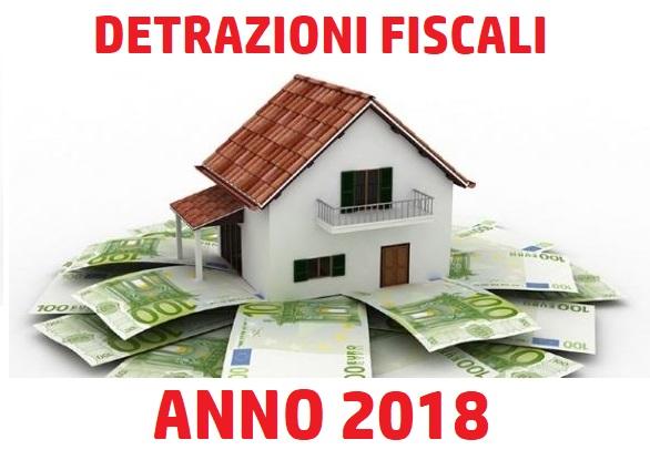 Detrazioni fiscali 2018 cosa cambiato for Detrazioni fiscali 2018
